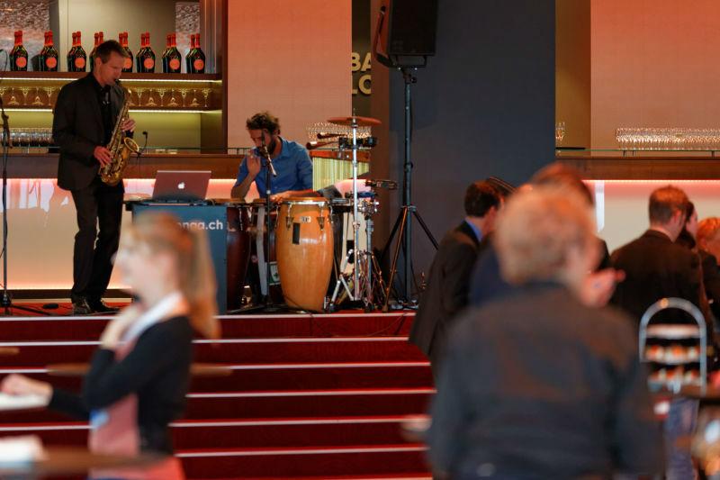 Beispiel: Hochzeit mit Sax o'conga, Foto: Sax o'conga.