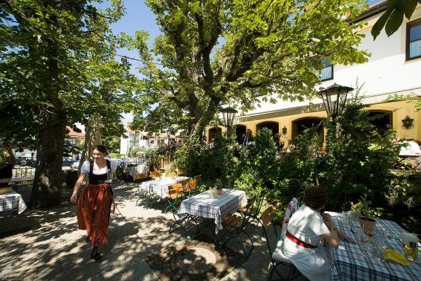 Beispiel: Terrasse, Foto: Bio-Hotel Alter Wirt.