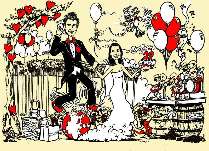 Beispiel: Einladungskarten für Ihre Hochzeit vom Profi, Foto: El Coyote.