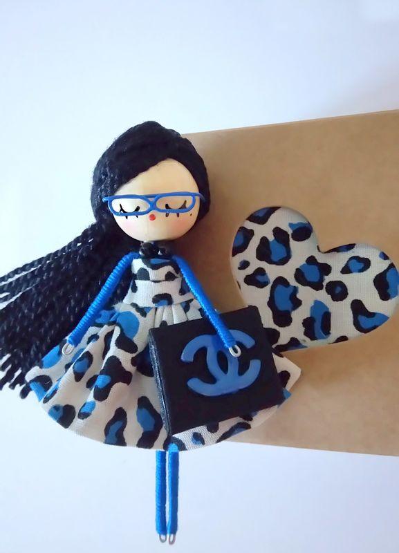 Broche de muñeca personalizada