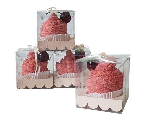 Cupcakes de toalla,  perfectos para regalar a  tus damas.