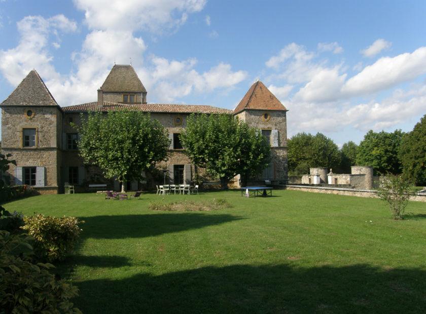Château la Gallée - La terrasse sud