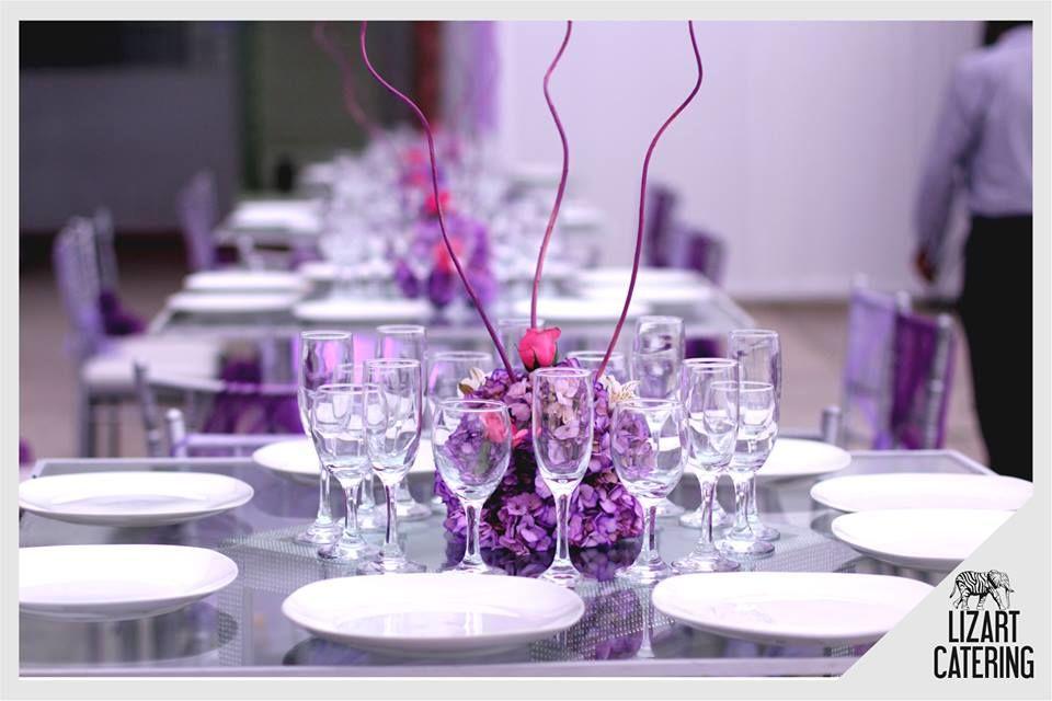 Mesa luxury Cristal Box