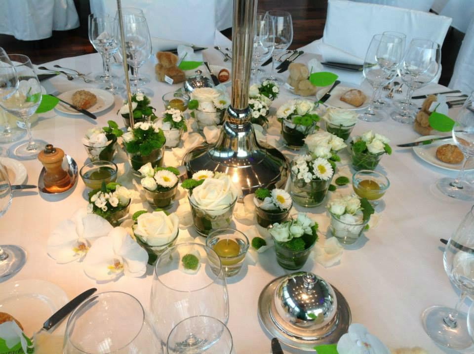 Tischdekoration, Foto: Park  Weggis.
