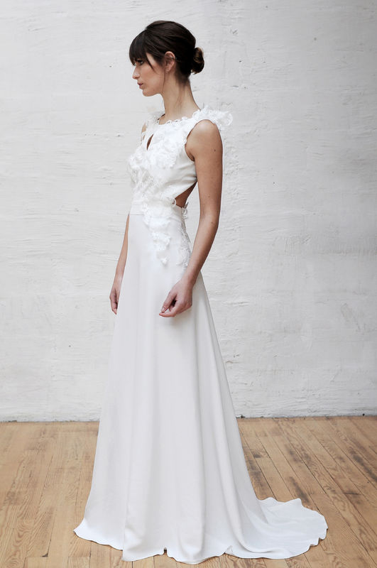 Robe de mariée Laurent Kapelski