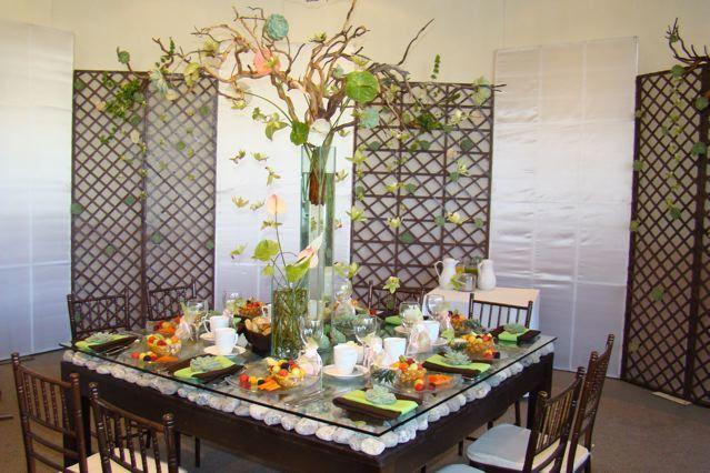 Mobiliario y accesorios de decoración para bodas de Diseño En Tu Mesa