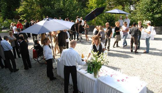Beispiel: Ihr Apéro zur Hochzeit, Foto: Schweizerhof Flims.