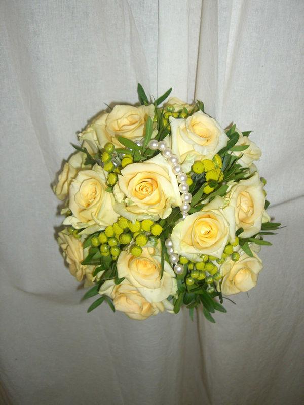 Beispiel: Hochzeitsfloristik, Foto: Blumen G. Bechstein.