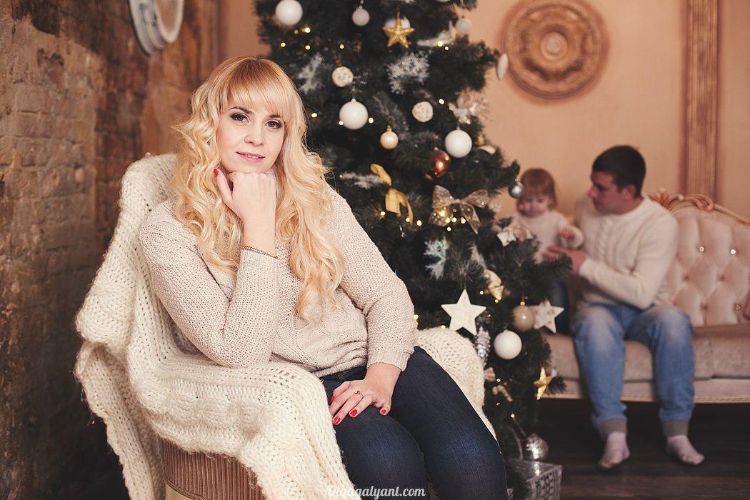макияж и причёска для Екатерины фотограф Ольга Галянт