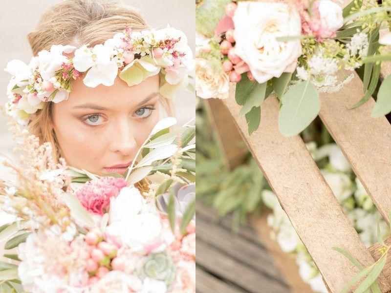 Bouquet de Mariée & Couronne