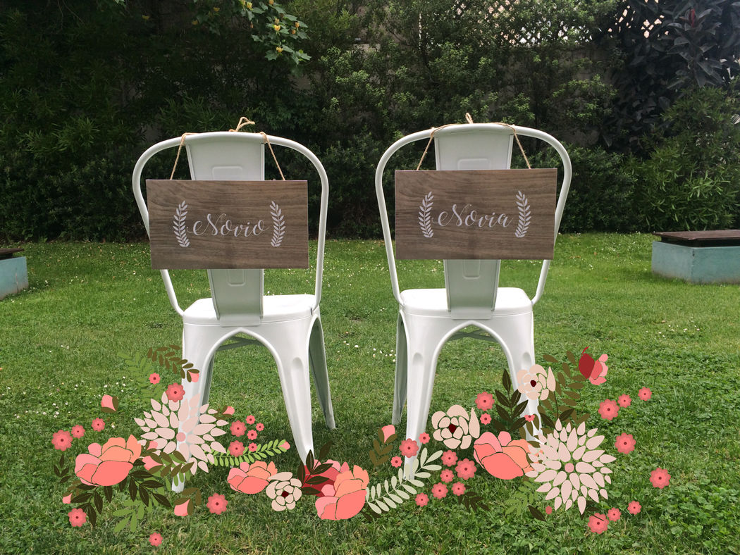 Letreros para sillas