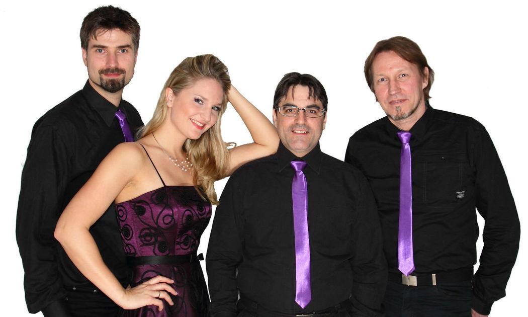 Beispiel: Besetzung, Foto: Lila Laune Band.