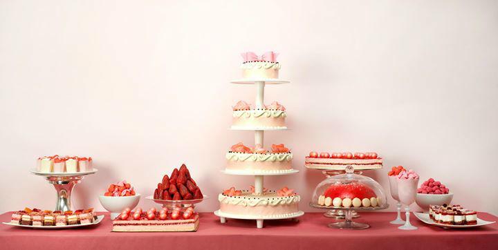 Buffet de desserts - Pâtisserie La Romainville