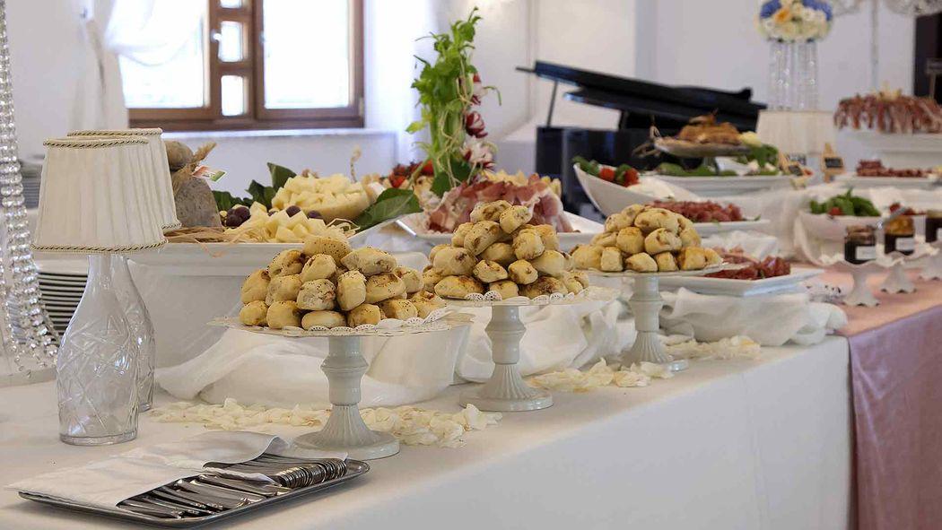 Villa Andrea di Isernia, buffet