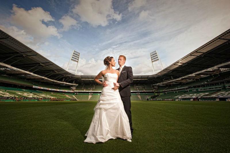 Beispiel: Außergewöhnliche Hochzeitsfotos, Foto: Matthias Richter Photography.