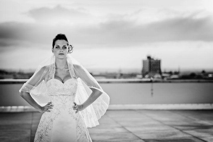 Beispiel: Portrait der Braut, Foto: Sergej Falk.