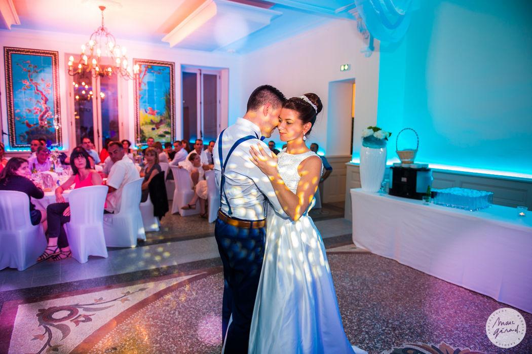 Zoom sur les mariés