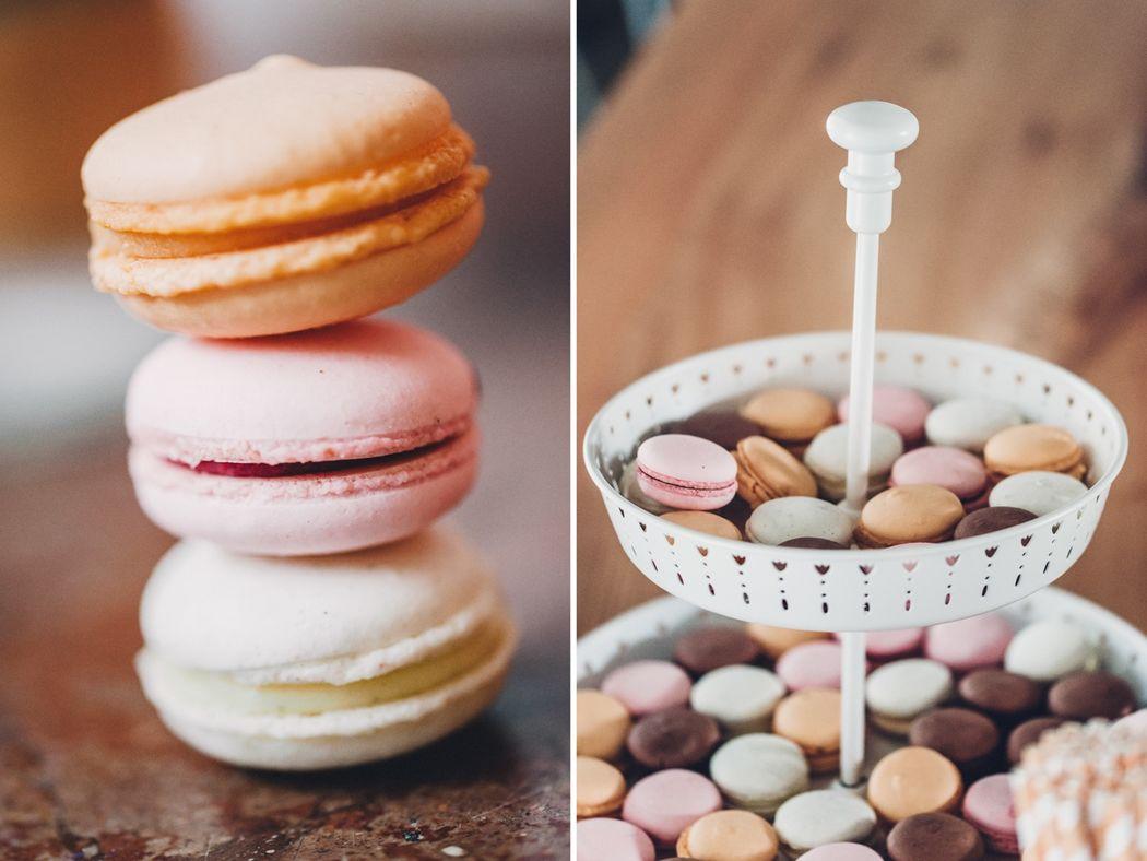 Beispiel: Macarons, Foto: Kreativ Wedding Fotografie