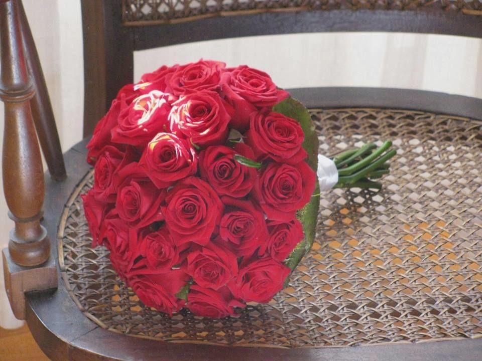 Bouquet de Noiva Rosas Vermelhas