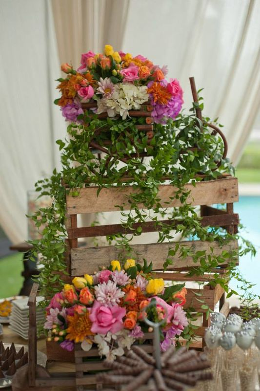 Arreglo Floral Vintage