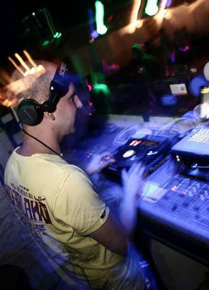 Beispiel: Auftritt, Foto: DJ Steve.