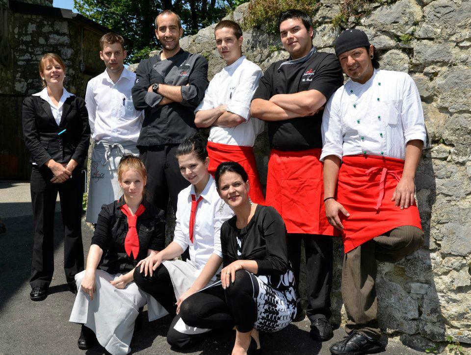Beispiel: Das Team, Foto: Schloss Schartenfels.