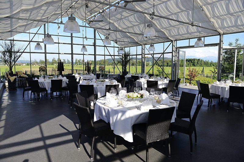 Beispiel: Glashaus La Vitrine, Foto: Mangerie.