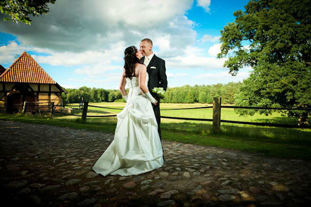 Beispiel: Romantische Hochzeitsfotos, Foto: Dirk Uhlenbrock FOTOGRAFIE.