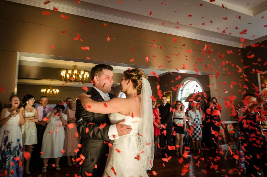 Ślubny taniec
