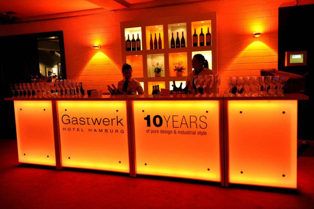 Beispiel: Hotelbar, Foto: Gastwerk Hotel.