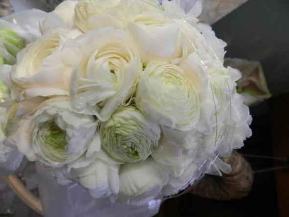 Beispiel: Brautstrauß, Foto: Die Blumenbinderin.
