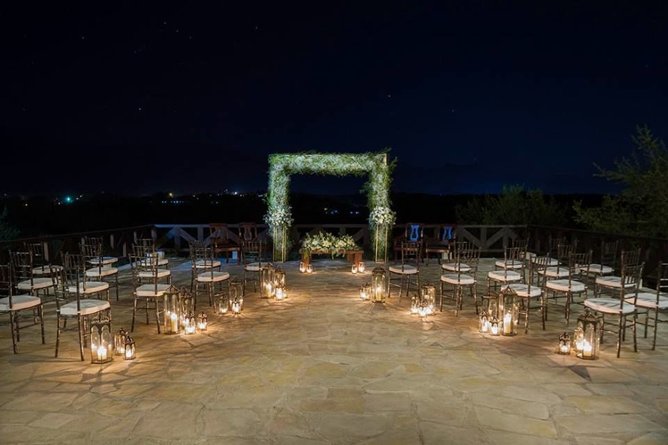 Terraza de la hacienda, ceremonia civil