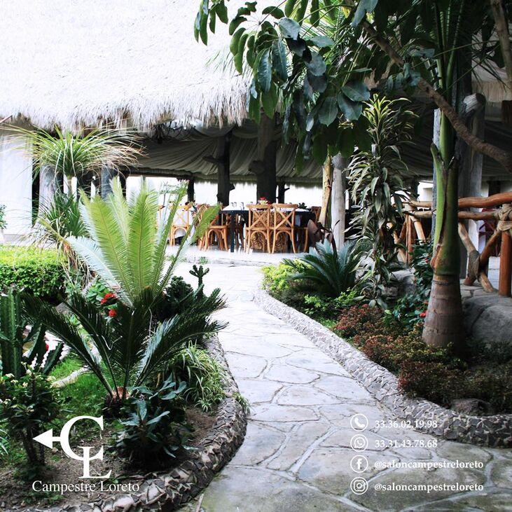 Salón Campestre Loreto. Guadalajara