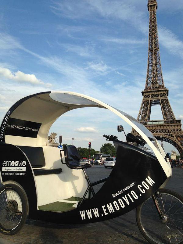 Who's next? Soyez à l'affût du tricycle Emoovio.