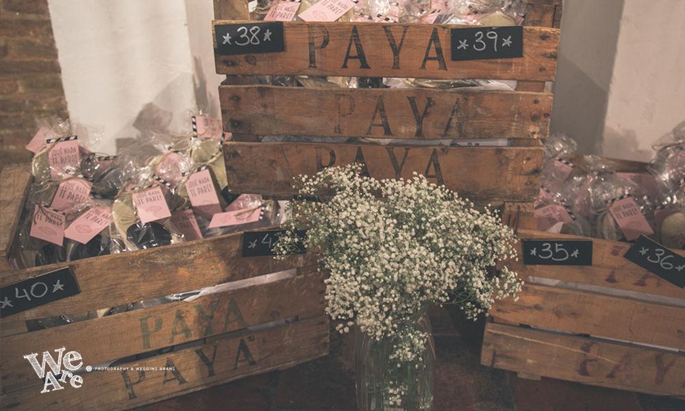 We Are. - Wedding planner. Diseño y Montaje de rincón de bailarinas personalizadas.