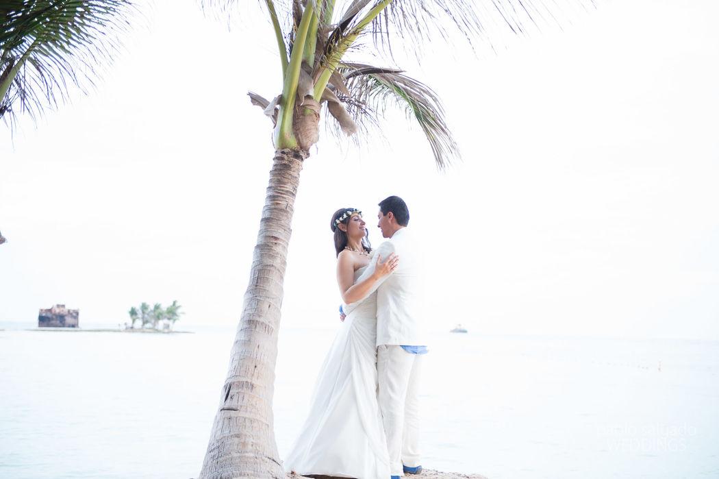 Claudia Gómez Matrimonios y Eventos  Aqua Beach Club San Andrés. Foto: Pablo Salgado.