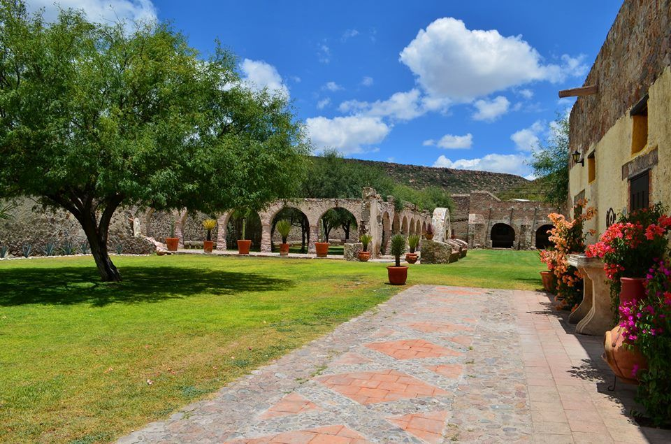 Patio del Mezcal - Hacienda Vallumbroso
