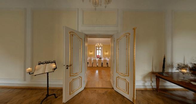 Beispiel: Beletage, Foto: Schloss Proschwitz.