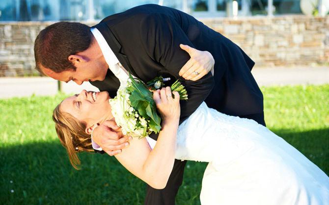 Beispiel: Kreative Hochzeitsfotos, Foto: Mphoto.