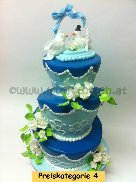 Beispiel: Ihre Wunschtorte zur Hochzeit, Foto: Motivtorten.
