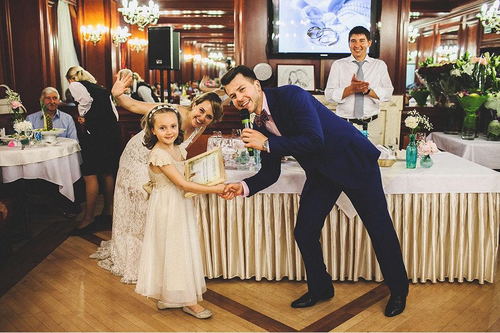 Никита Макаров - ведущий на свадьбу в Москве