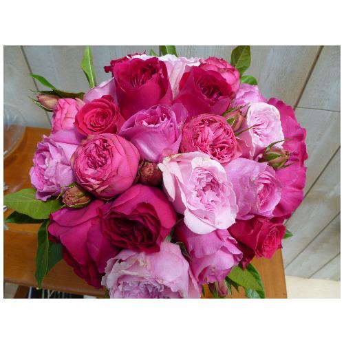 Bouquet rose - Magie de l'Ephémère