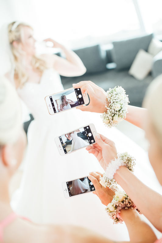 Vorbereitungen Hochzeit