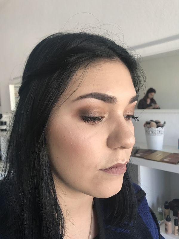 Detalhes da maquilhagem