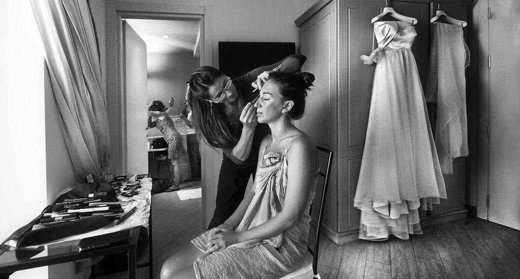 Preparativi sposa a Finale Ligure