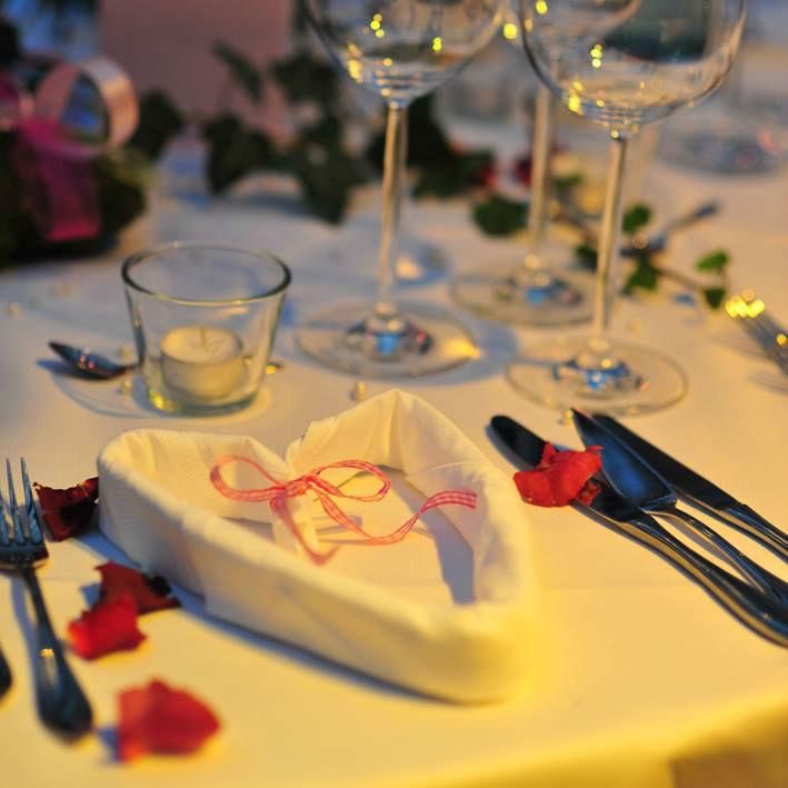 Beispiel: Tischdekoration, Foto: Unikorn Catering & Events.