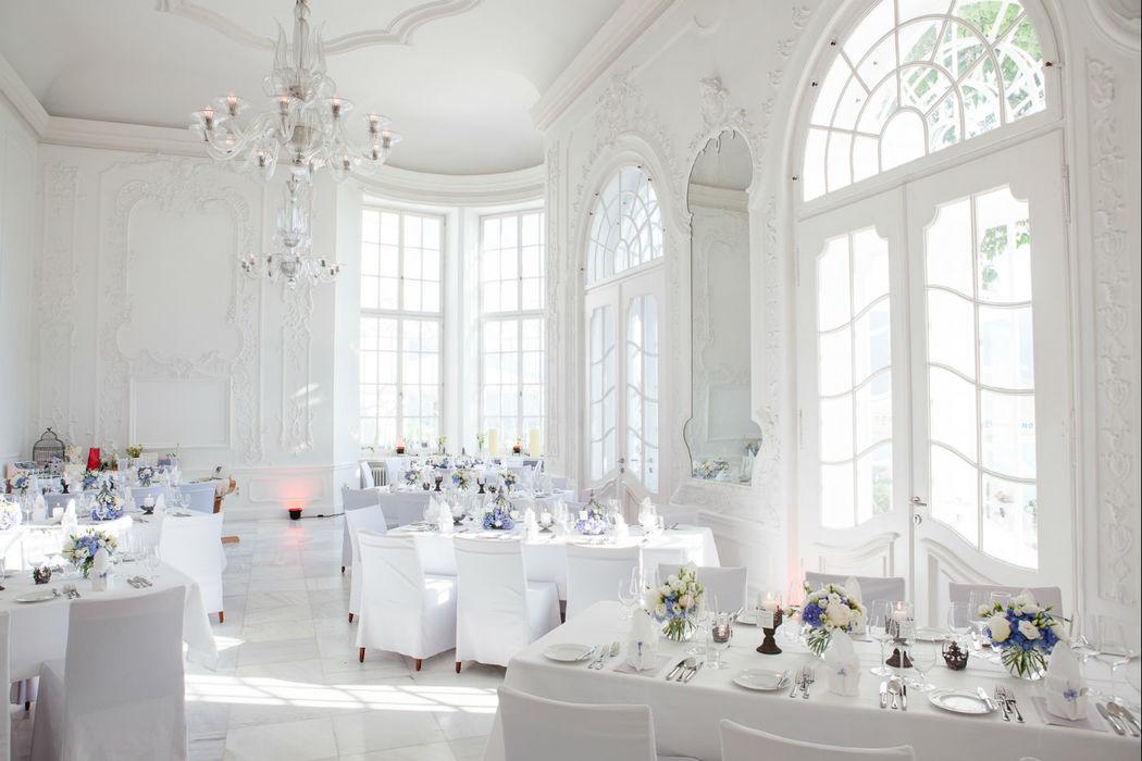 Elegante Hochzeit am Tegernsee; Fotografie: Radmila Kerl