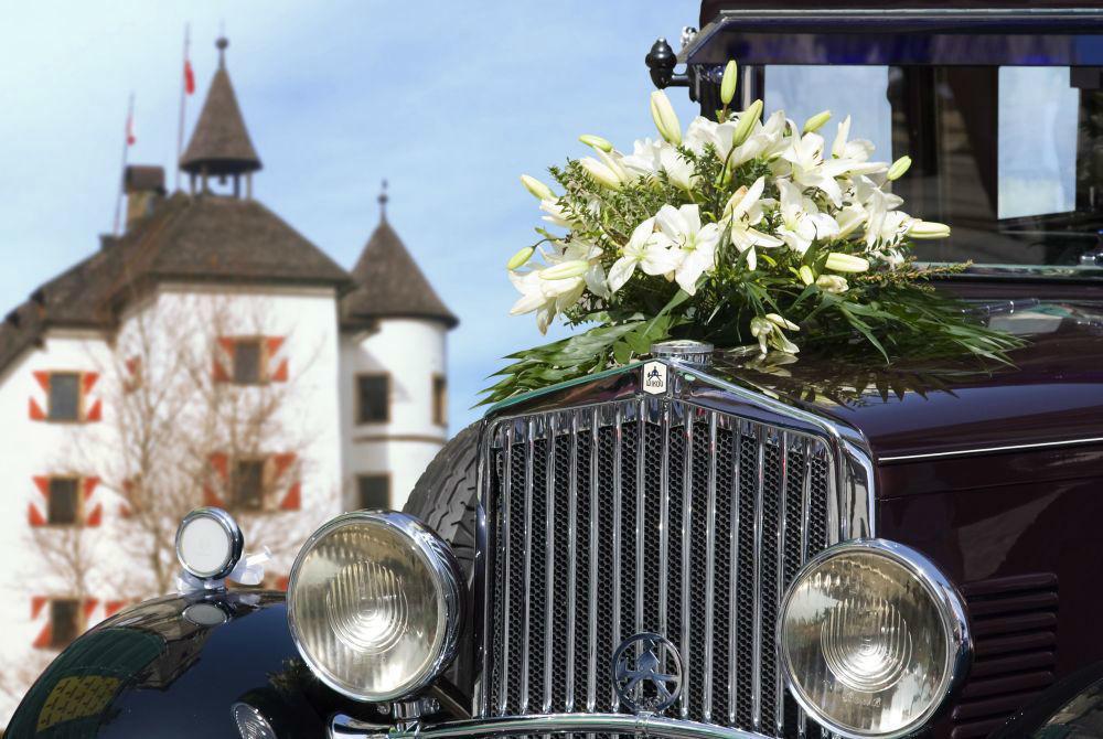 Foto: Tag der Hochzeit auf