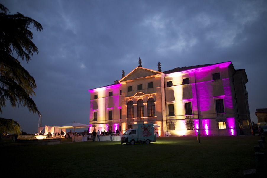 illuminazione Villa Favorita
