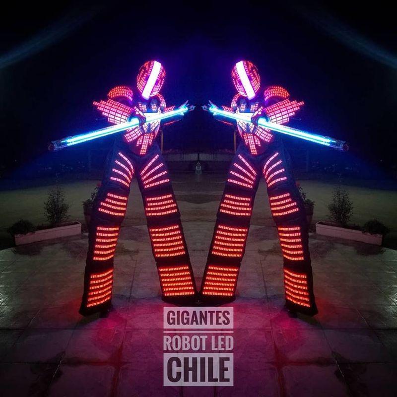 Robot Led Chile Gigantes